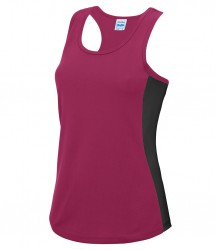 Image 5 of AWDis Cool Girlie Contrast Vest