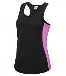 Image 7 of AWDis Cool Girlie Contrast Vest