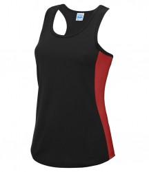 Image 8 of AWDis Cool Girlie Contrast Vest