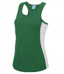 Image 9 of AWDis Cool Girlie Contrast Vest