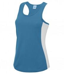 Image 11 of AWDis Cool Girlie Contrast Vest