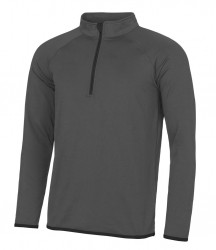 Image 2 of AWDis Cool Half Zip Sweat Top