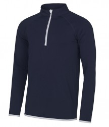 Image 3 of AWDis Cool Half Zip Sweat Top