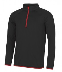 Image 6 of AWDis Cool Half Zip Sweat Top