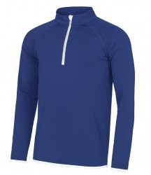 Image 7 of AWDis Cool Half Zip Sweat Top