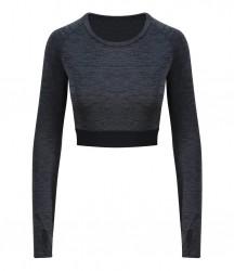 Image 2 of AWDis Cool Girlie Long Sleeve Crop Top
