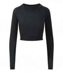 Image 4 of AWDis Cool Girlie Long Sleeve Crop Top