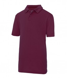 Image 12 of AWDis Kids Cool Wicking Polo Shirt