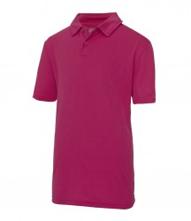 Image 4 of AWDis Kids Cool Wicking Polo Shirt