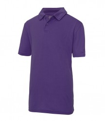 Image 7 of AWDis Kids Cool Wicking Polo Shirt