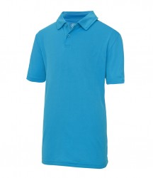 Image 9 of AWDis Kids Cool Wicking Polo Shirt