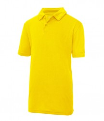 Image 10 of AWDis Kids Cool Wicking Polo Shirt