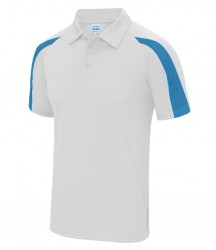 Image 15 of AWDis Cool Contrast Polo Shirt
