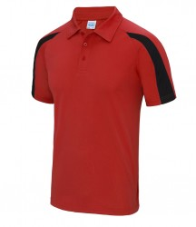 Image 7 of AWDis Cool Contrast Polo Shirt