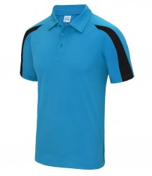 Image 14 of AWDis Cool Contrast Polo Shirt