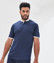 Image 1 of AWDis Cool Stand Collar Sports Polo Shirt