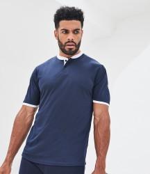 AWDis Cool Stand Collar Sports Polo Shirt image