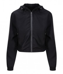 Image 3 of AWDis Cool Girlie Cropped Windshield Jacket