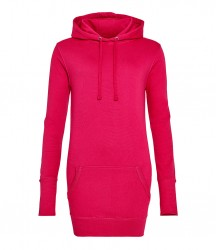 Image 7 of AWDis Girlie Long Line Hoodie