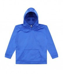 Image 4 of AWDis Kids Sports Polyester Hoodie