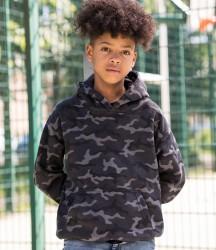 Image 1 of AWDis Kids Camo Hoodie