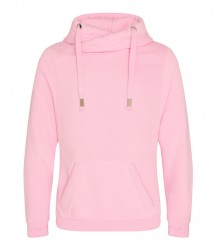 Image 8 of AWDis Cross Neck Hoodie