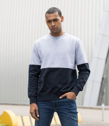 AWDis Colour Block Sweatshirt image