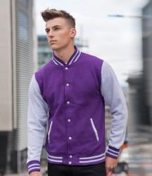 AWDis Varsity Jacket image