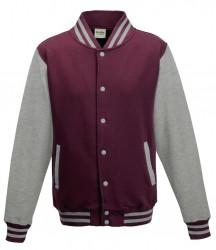 Image 2 of AWDis Varsity Jacket
