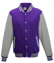 Image 18 of AWDis Varsity Jacket