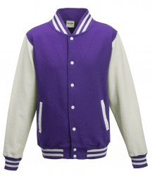 Image 19 of AWDis Varsity Jacket