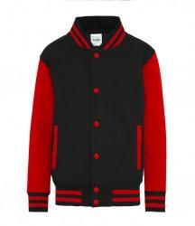 Image 6 of AWDis Kids Varsity Jacket