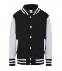 Image 7 of AWDis Kids Varsity Jacket