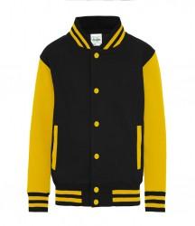 Image 8 of AWDis Kids Varsity Jacket