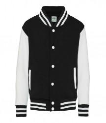 Image 9 of AWDis Kids Varsity Jacket