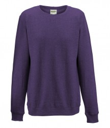 Image 7 of AWDis Girlie Heather Sweatshirt