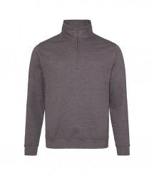 Image 4 of AWDis Sophomore Zip Neck Sweatshirt