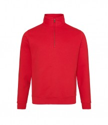 Image 4 of AWDis Sophomore Zip Neck Sweatshirt