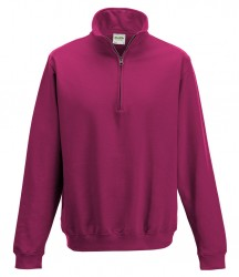 Image 6 of AWDis Sophomore Zip Neck Sweatshirt