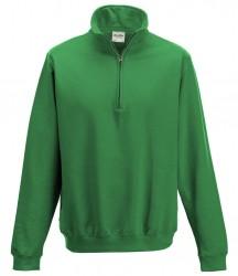 Image 10 of AWDis Sophomore Zip Neck Sweatshirt