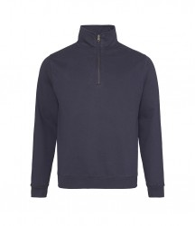 Image 9 of AWDis Sophomore Zip Neck Sweatshirt