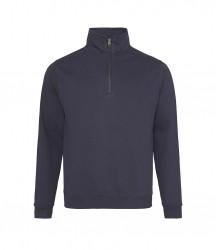 Image 11 of AWDis Sophomore Zip Neck Sweatshirt