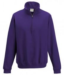 Image 12 of AWDis Sophomore Zip Neck Sweatshirt