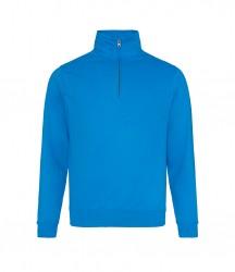 Image 8 of AWDis Sophomore Zip Neck Sweatshirt