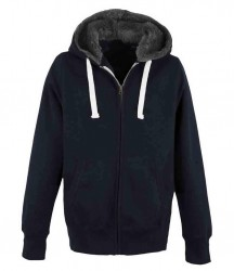 Image 4 of AWDis Unisex Fur Lined Chunky Zoodie