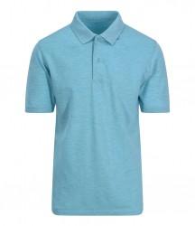 Image 3 of AWDis Surf Melange Piqué Polo Shirt