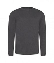 Image 3 of AWDis Long Sleeve Tri-Blend T-Shirt