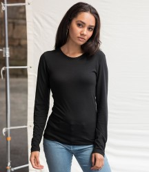 AWDis Girlie Long Sleeve Tri-Blend T-Shirt image