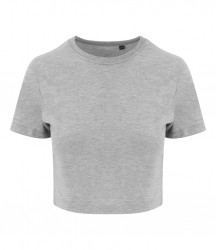 Image 2 of AWDis Girlie Tri-Blend Cropped T-Shirt