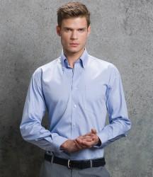 Kustom Kit Premium Long Sleeve Classic Fit Oxford Shirt image